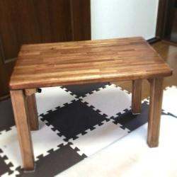 アカシア集成材 制作例 テーブル 折りたたみ式