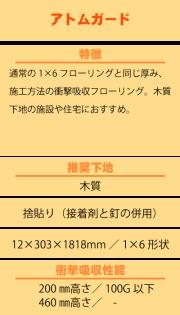 永大フロア アトムガード ATG-※